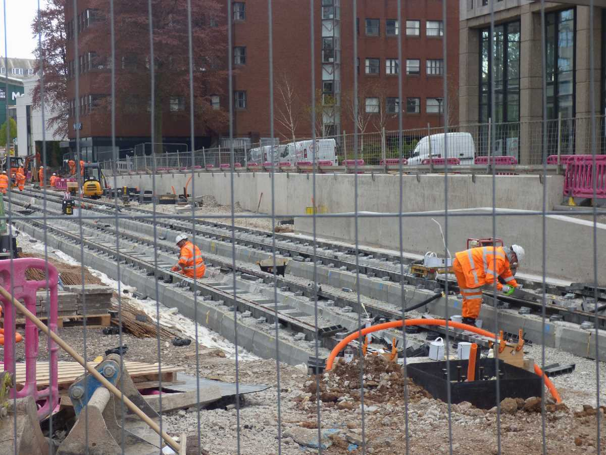 Westside Metro extension from Hagley Road to Broad Street - Late April 2021 update